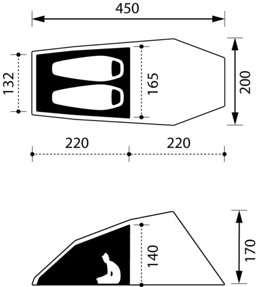 15 Best 2 Man Tents for Wild Camping in 2021 - Great ...